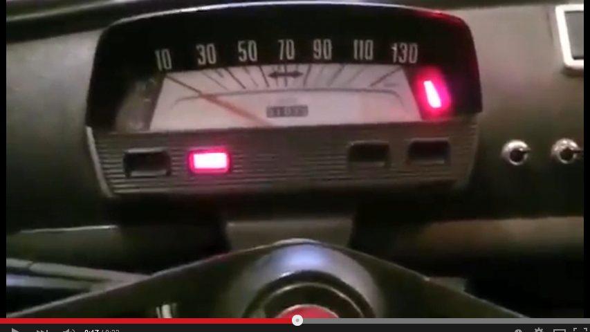 Fiat 500 Tacho