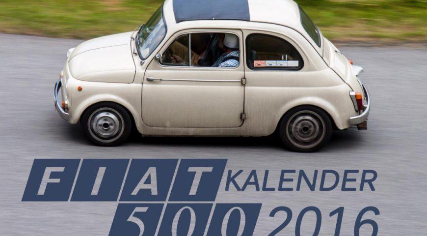 Fiat 500 Kalender 2016