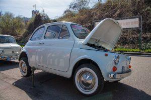Fiat 500 Panne