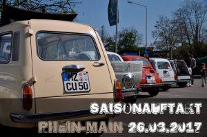 Fiat 500 Saisonauftakt