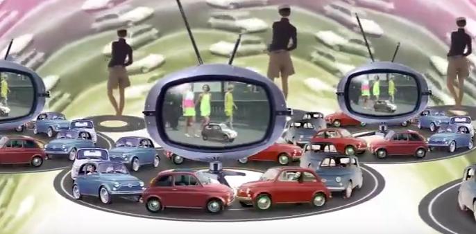 Fiat 500 Sondermodell 60 Jahre Fiat 500