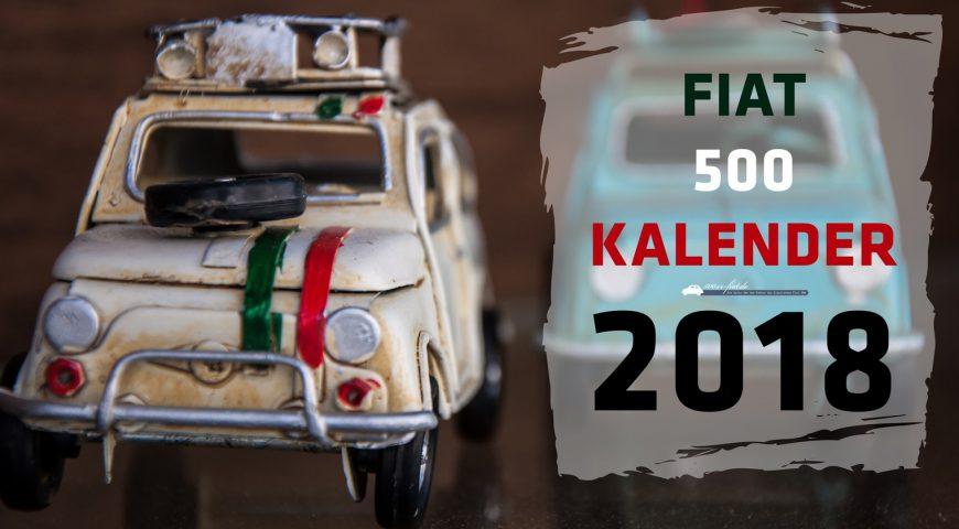 Fiat 500 Kalender für 2018