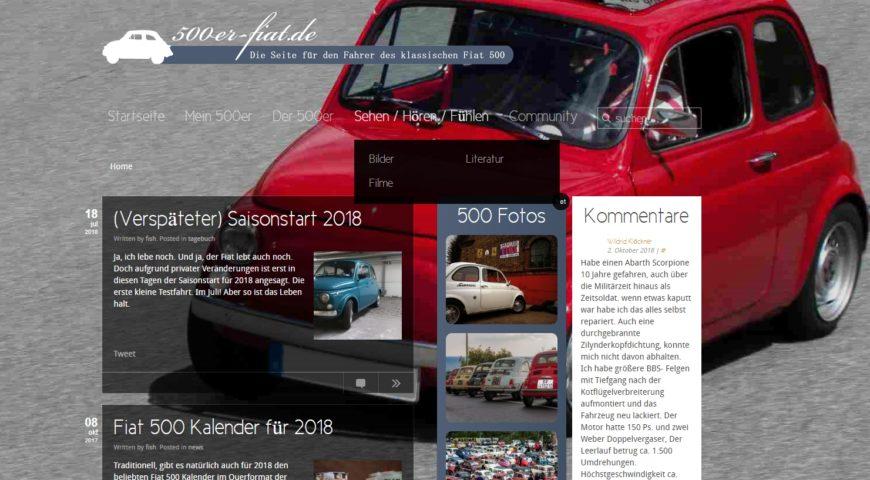Altes Design bis Juni 2019 - 500er-fiat.de