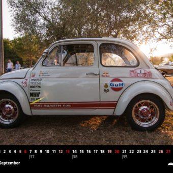 Fiat 500 Kalender für 2020