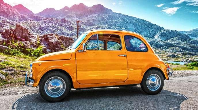 Ausstellung zum Fiat 500